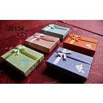 Paper Box with Decorative Ribbon