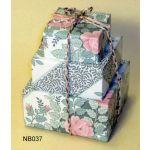 Nesting Boxes with Wrapping Paper