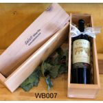 Wooden Wine Storage Boxes