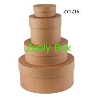 Read more: Recycled Kraft Round Gift Box