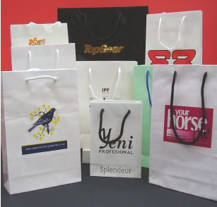 4 knot handle shopping bags