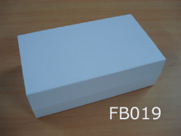 White Large Foldable Gift Box