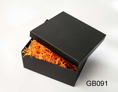 Black Flower Gift Boxes