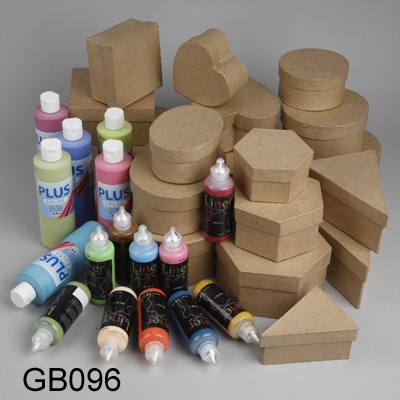 Recycled Kraft Paper Gift Boxes