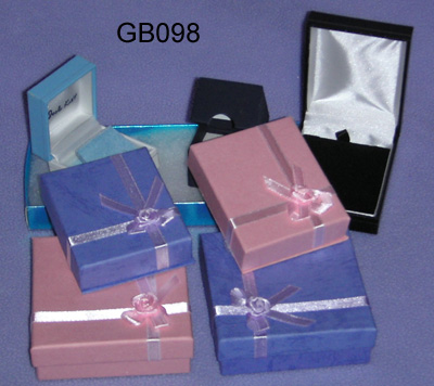 Small Jewelry Gift Boxes with Ribbons