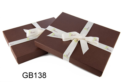 Decorative Brown Paper Boxes
