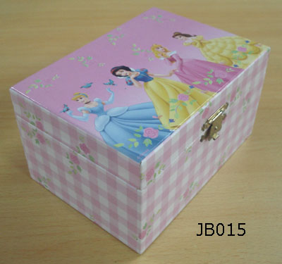 Wooden Disney Music Box