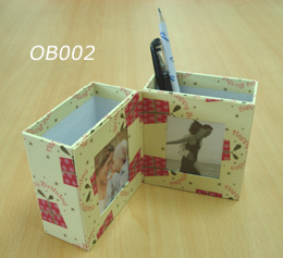 Pen Holder Box with Photo