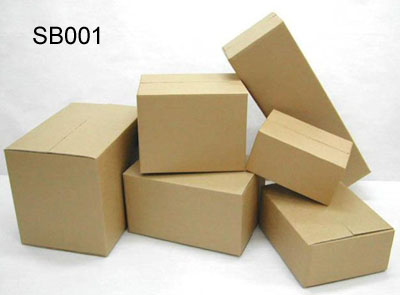 Brown Kraft Shipping Boxes